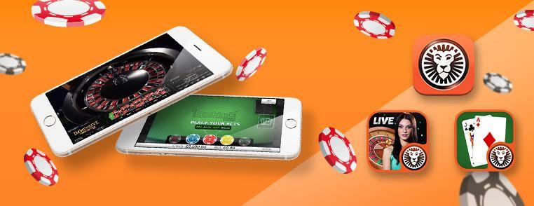 LeoVegas mobiele casino apps
