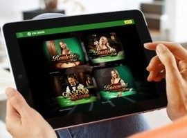 unibet live casino tablet