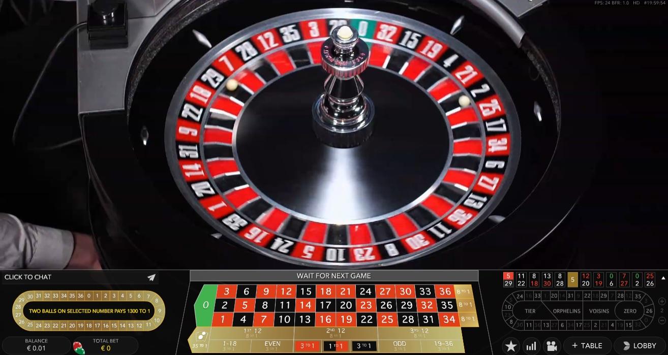 double ball roulette leovegas
