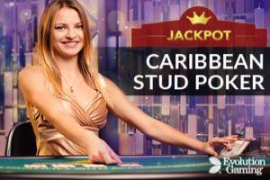 leovegas jackpot carribean stud live casino