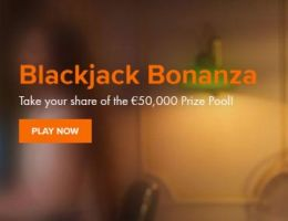 Win met de Live Blackjack €50.000