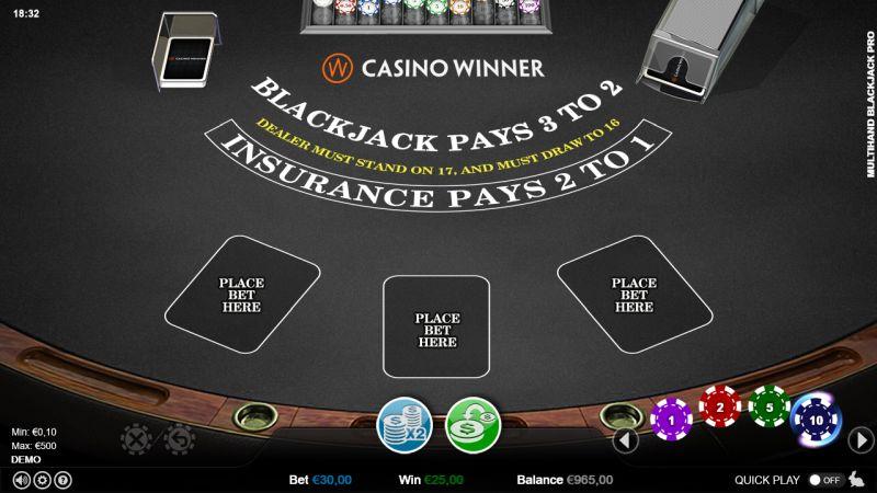 Verzekeren bij blackjack