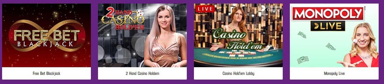 Lucky Casino live spellen