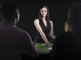 Chatten met de live dealers blackjack