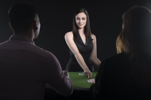 Chatten met de live dealers blackjack