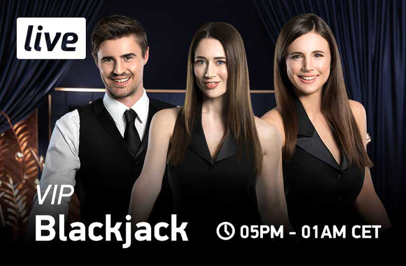 NetEnt Live VIP Blackjack