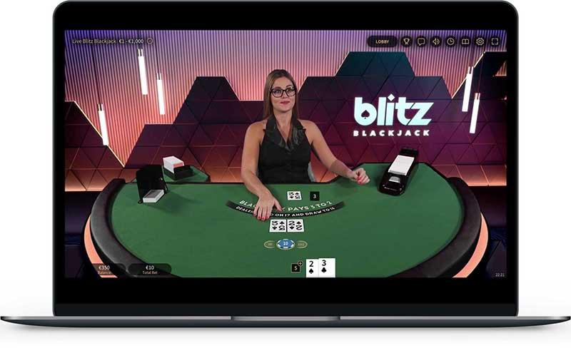 Blitz poker NetEnt