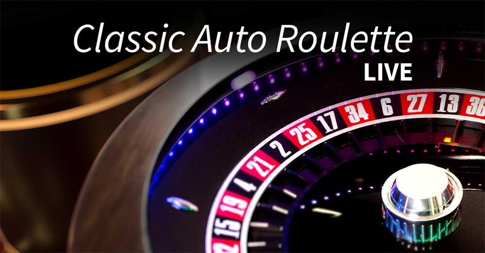 Live roulette varianten: auto roulette NetEnt