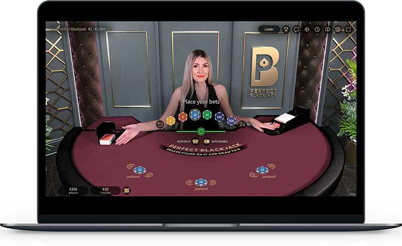 Live blackjack varianten mobiel