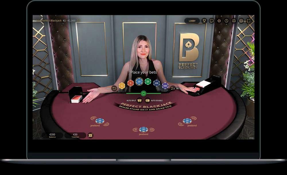 Perfect Blackjack desktop