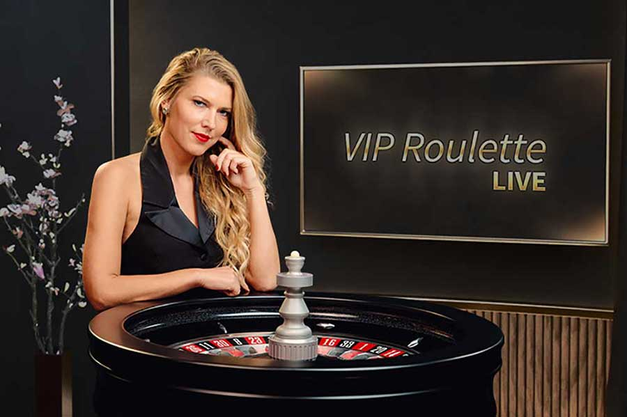 VIP Live Roulette NetEnt